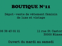 BOUTIQUE N°11 (programme) - copie