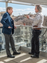 Timothy Spall et Peter Lord