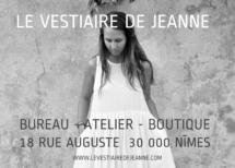 Encart Vestiaire de Jeanne (annonceur)