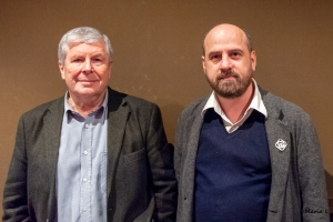 Quentin Falk et Nicolas Botti