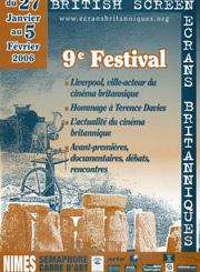 Affiche Festival Ecrans Britanniques 2006